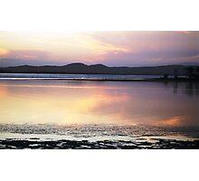 Pink Sunset Photographic Print