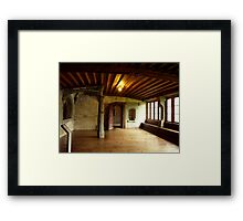 A Room at the Kloster St. Georgen Framed Print