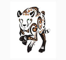 Cheetah Tribal  Baby Tee