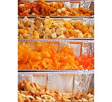 Indian sweets Photographic Print