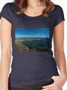 Muckross Head, Donegal, Ireland Women's Fitted Scoop T-Shirt