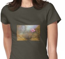 Look from under water or Reflection? Womens Fitted T-Shirt
