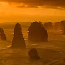 Twelve Apostles Sunset by Frank Yuwono