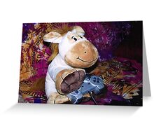 Richard the Donkey - Gamer Greeting Card