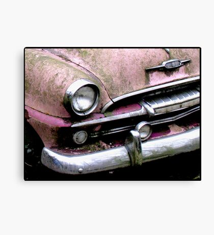 Pink Smile Canvas Print