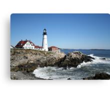 Portland Head Light House, 4700 views! Canvas Print