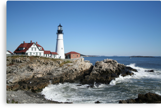 Portland Head Light House, 4700 views! by Linda Jackson