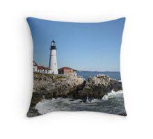 Portland Head Light House, 4700 views! Throw Pillow