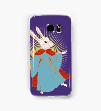 Saint Bunny has your back Samsung Galaxy Case/Skin