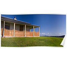 Cottage View Poster