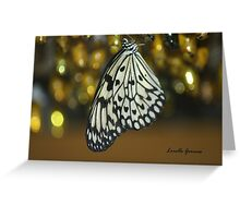 No Longer In My Cocoon Greeting Card