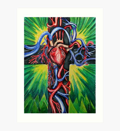 Crucifix Art Print