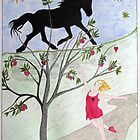 'Big Black Horse And A Cherry Tree' by Mike Paget