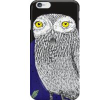 Night Owl iPhone Case/Skin