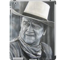 John Wayne (oil painting) iPad Case/Skin
