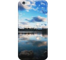Silver Lake Flat Reservoir iPhone Case/Skin