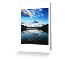 Silver Lake Flat Reservoir Greeting Card