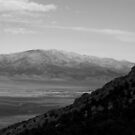 Spring Valley Mountains B&W by elasita