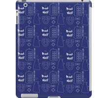 Dr Who Pattern iPad Case/Skin