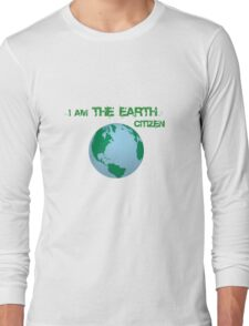 Earth Citizen Long Sleeve T-Shirt