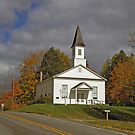 Omena Village Presbyterian Church by Bob Fox