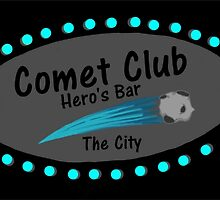 Comet Club: Hero's Bar (Small) by GeekDesigns