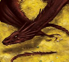 Smaug the Terrible by toibi