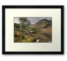 Buttermere South Bank Framed Print