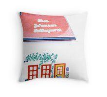 postbox Throw Pillow