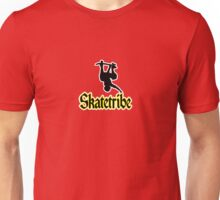Skatetribe - Invert and Black Text Unisex T-Shirt