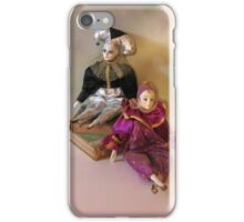 Harlequin Dolls iPhone Case/Skin