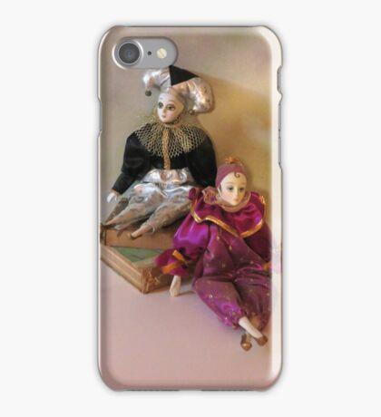 Harlequin Dolls iPhone Case/Skin