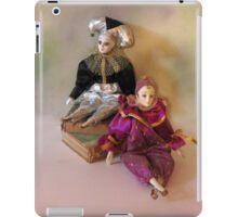 Harlequin Dolls iPad Case/Skin