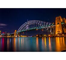 Sydney Harbor Bridge Photographic Print