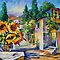 GREEK NOON limited edition giclee of L.AFREMOV painting by LeonidAfremov