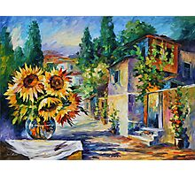 GREEK NOON limited edition giclee of L.AFREMOV painting Photographic Print