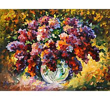 SPRING LILAC limited edition giclee of L.AFREMOV painting Photographic Print