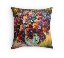 SPRING LILAC limited edition giclee of L.AFREMOV painting Throw Pillow