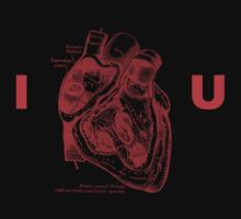 I Heart U by Keith Barkevich