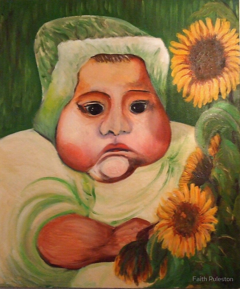 apologies to Vincent van Gogh by Faith Puleston