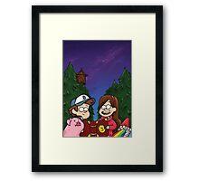 Gravity Falls Framed Print