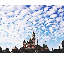 Disneyland Castle  Photographic Print
