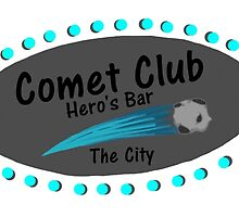 Comet Club: Hero's Bar (Large/White) by GeekDesigns