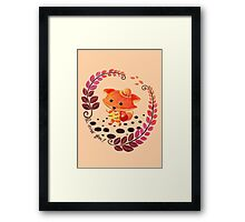 Hello, Miss Fox! Framed Print