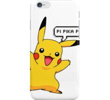 pi pika pi iPhone Case/Skin