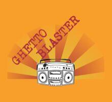 Ghettoblaster by AndrewBlackie