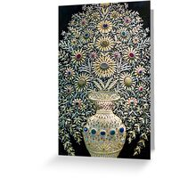 Exquisite Embroidery Greeting Card