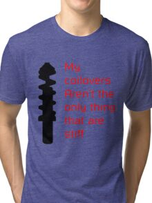 Stiff Coilovers COLORS Tri-blend T-Shirt