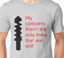 Stiff Coilovers COLORS Unisex T-Shirt