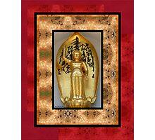 Golden Budda Photographic Print